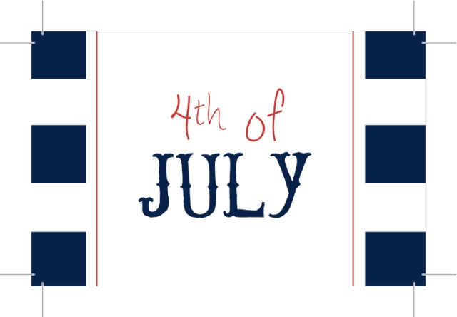 {4th of July} 4th of July Tag - Free Printable
