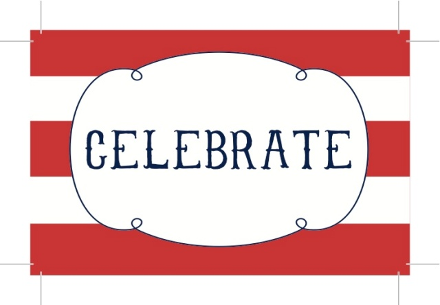{Celebrate} 4th of July Tag - Free Printable