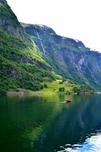 Norwegian fjord. Picture from One Charming Life