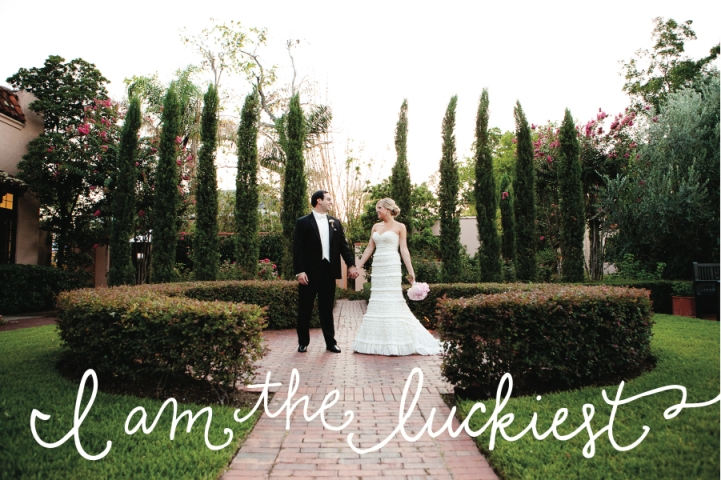mariel and bobby's wedding - the luckiest