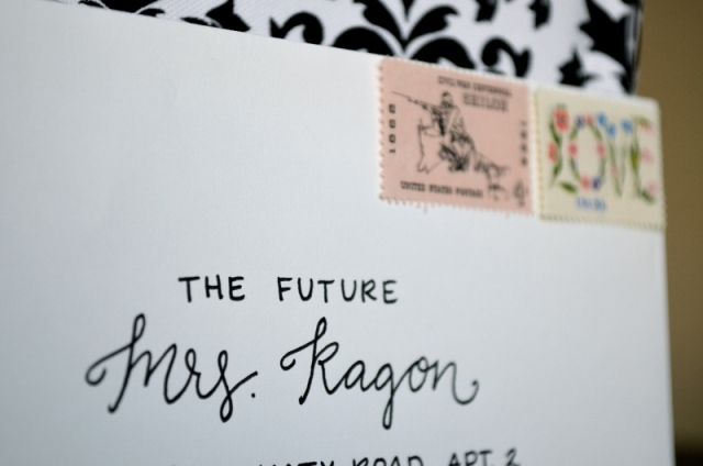 Envelope Lettering from One Charming Life