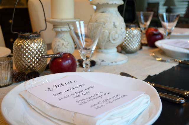 Fall Paleo Dinner Party Inspiration