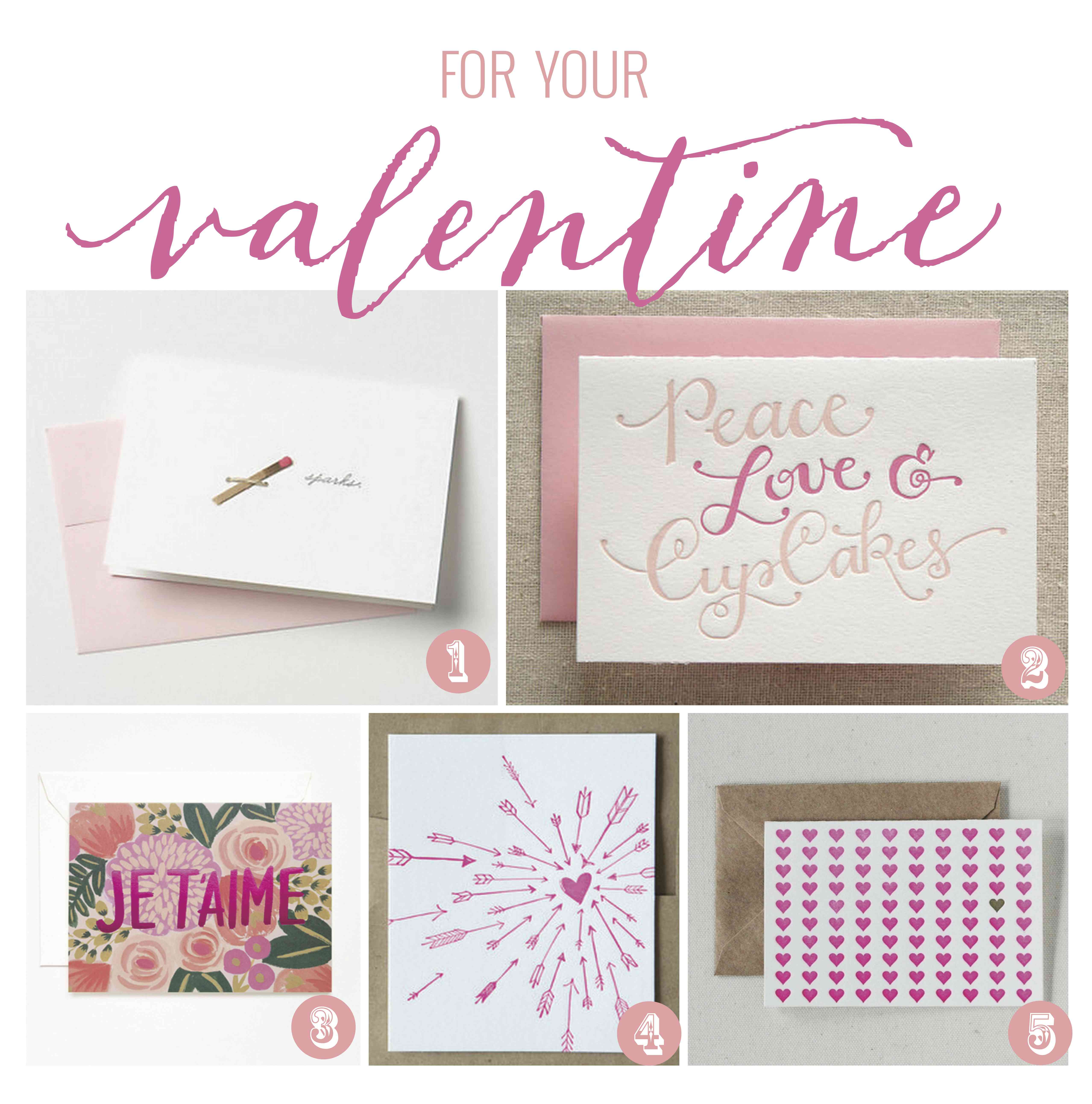 For Your Valentine – Pretty Valentines Cards